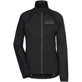 VAUDE Windoo Pro Zip Off Jacket Women, zwart